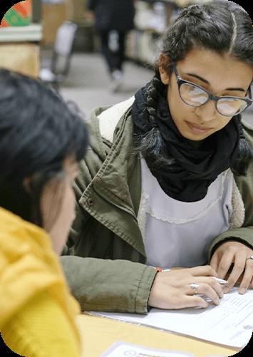 Estudiante participante de Futuros Egresados